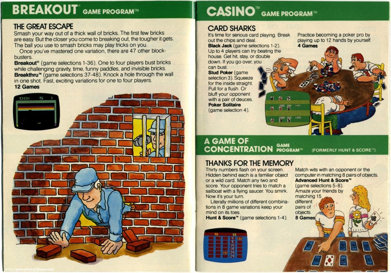 Names casino games