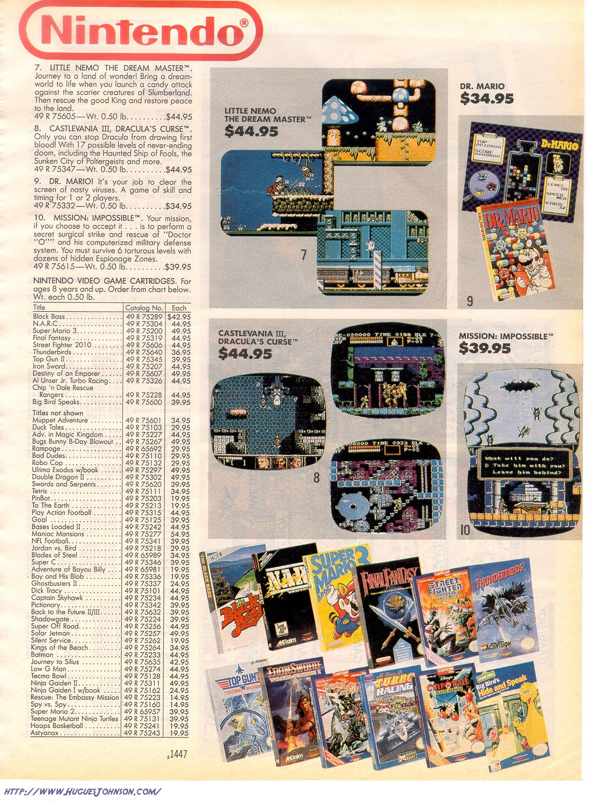 NA » Old Video Game Ads from Sears Christmas Catalogs/Wish Books