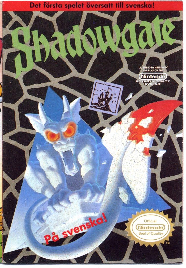 Hugues Johnson Com Shadowgate Guide Swedish Nes Version
