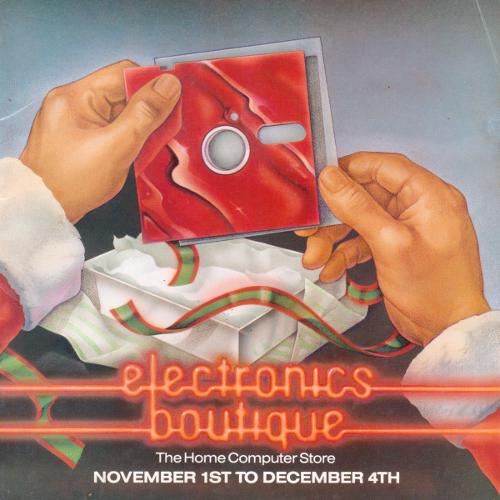 Electronics Boutique 1988 Christmas Catalog
