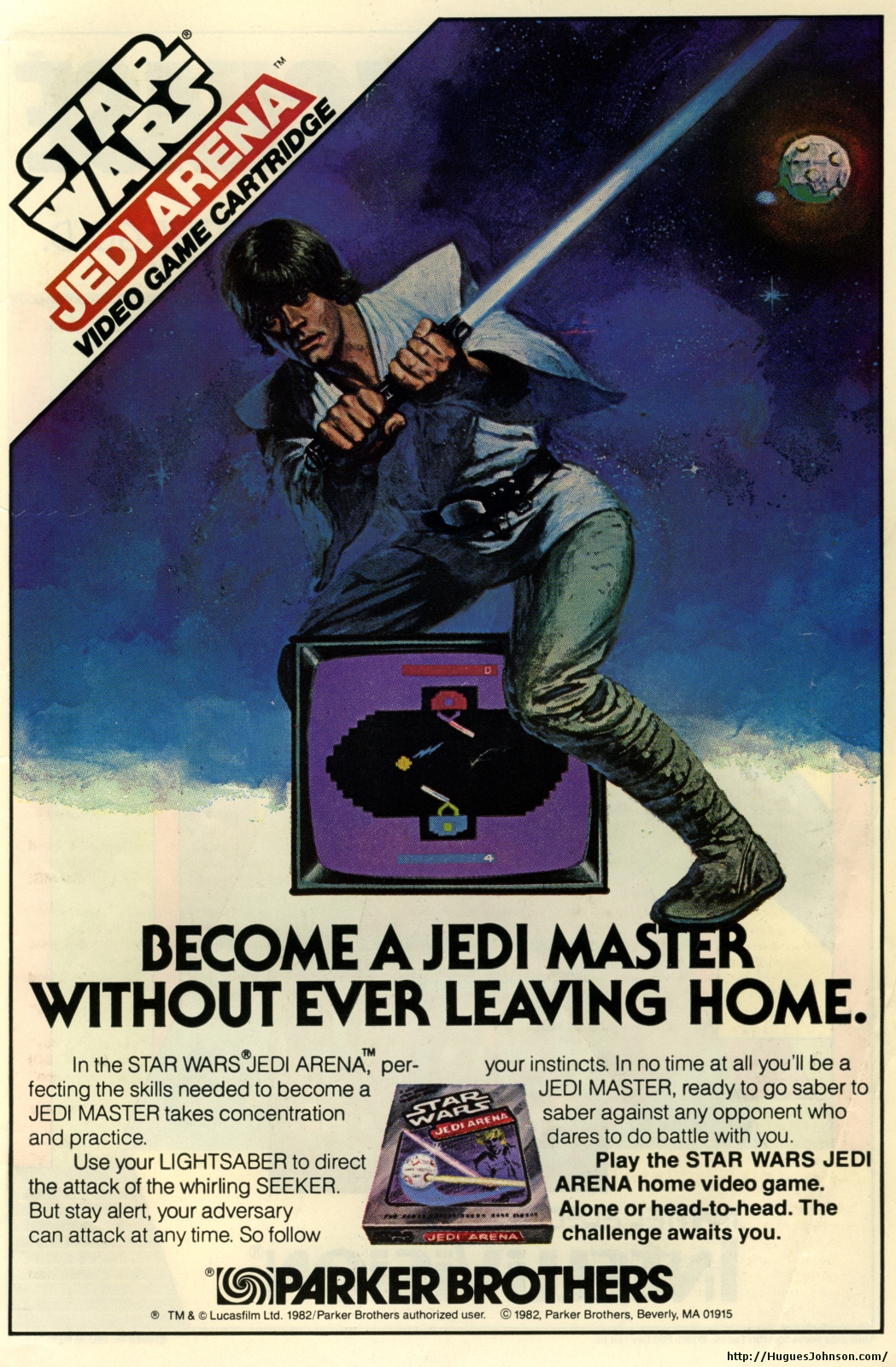 HuguesJohnson.com - Atari and Intellivision Ads