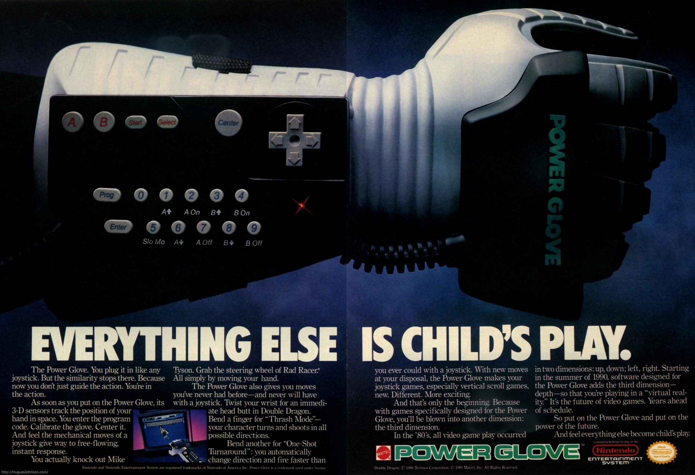 HuguesJohnson.com: Nintendo Ads
